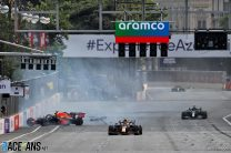Pirelli told drivers Baku tyre failures were not caused by teams cheating – Perez
