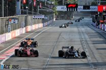 Pierre Gasly, AlphaTauri, Baku City Circuit, 2021