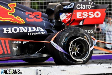 Max Verstappen, Red Bull, Circuit de la ville de Bakou, 2021