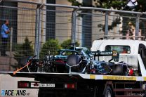 "Aston Martin ""surprised"" by Pirelli's claim low tyre pressures caused Baku crashes"