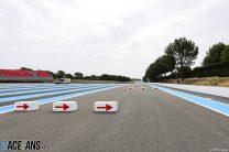 Mistral chicane run-off, Paul Ricard, 2021