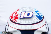 Four drivers change helmet designs for French Grand Prix