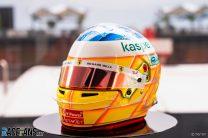 Charles Leclerc's 2021 French Grand Prix helmet