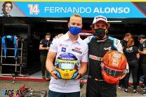 Nikita Mazepin, Fernando Alonso, Paul Ricard, 2021