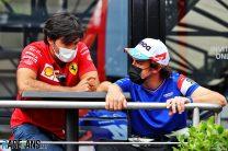 Carlos Sainz Jnr, Fernando Alonso, Paul Ricard, 2021