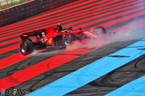 Carlos Sainz Jnr, Ferrari, Paul Ricard, 2021