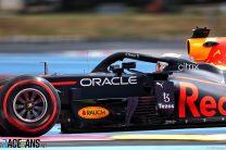 Verstappen leads Bottas by tiny margin in second practice