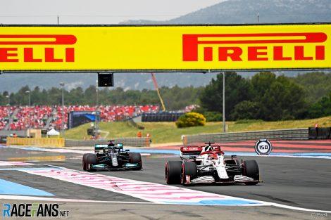 Kimi Raikkonen, Alfa Romeo, Paul Ricard, 2021