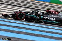 Valtteri Bottas, Mercedes, Paul Ricard, 2021