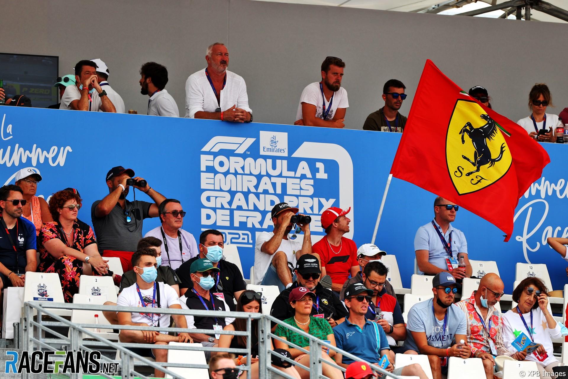Fans, Paul Ricard, 2021