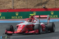 Leclerc takes first Formula 3 win with lights-to-flag drive