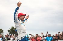 Palou wins after another late heartbreak for Newgarden at Road America