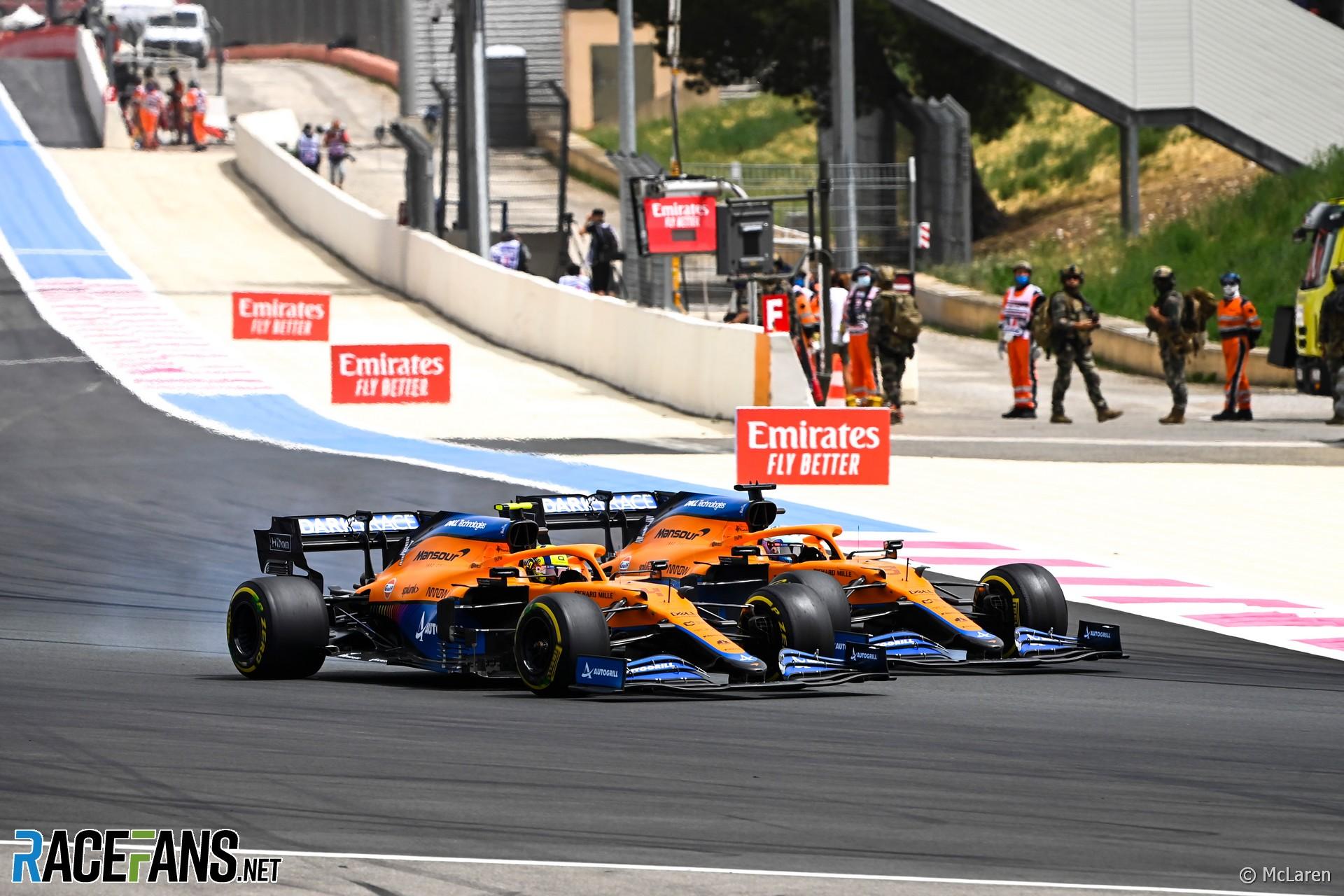 McLaren, Paul Ricard, 2021