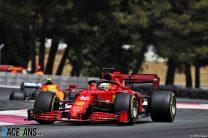 "Leclerc says Ferrari must address ""very bad"" degradation after slump to 16th"