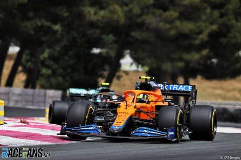 Lando Norris, McLaren, Paul Ricard, 2021