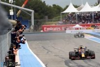 Verstappen wins enthralling French Grand Prix with late pass on Hamilton