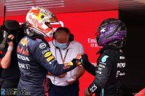 Lewis Hamilton and Max Verstappen, Paul Ricard, 2021