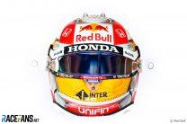 Sergio Perez's Styrian Grand Prix helmet