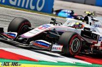 Mick Schumacher, Haas, Red Bull Ring, 2021