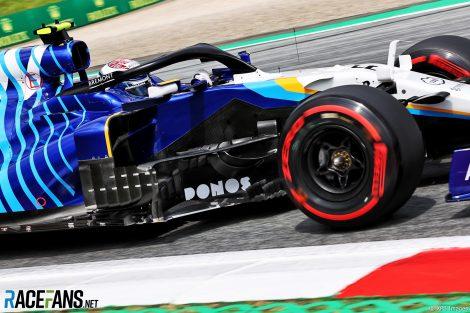 Nicholas Latifi, Williams, Red Bull Ring, 2021