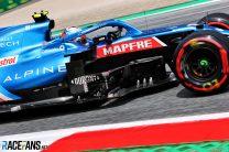 Esteban Ocon, Alpine, Red Bull Ring, 2021