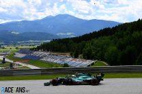Sebastian Vettel, Aston Martin, Red Bull Ring, 2021