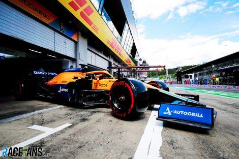 Daniel Ricciardo, McLaren, Red Bull Ring, 2021