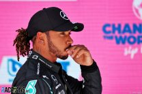 Jumping the queue in qualifying was a mistake, Hamilton admits