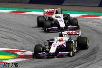 Schumacher has also driven Mazepin's heavier chassis – Steiner