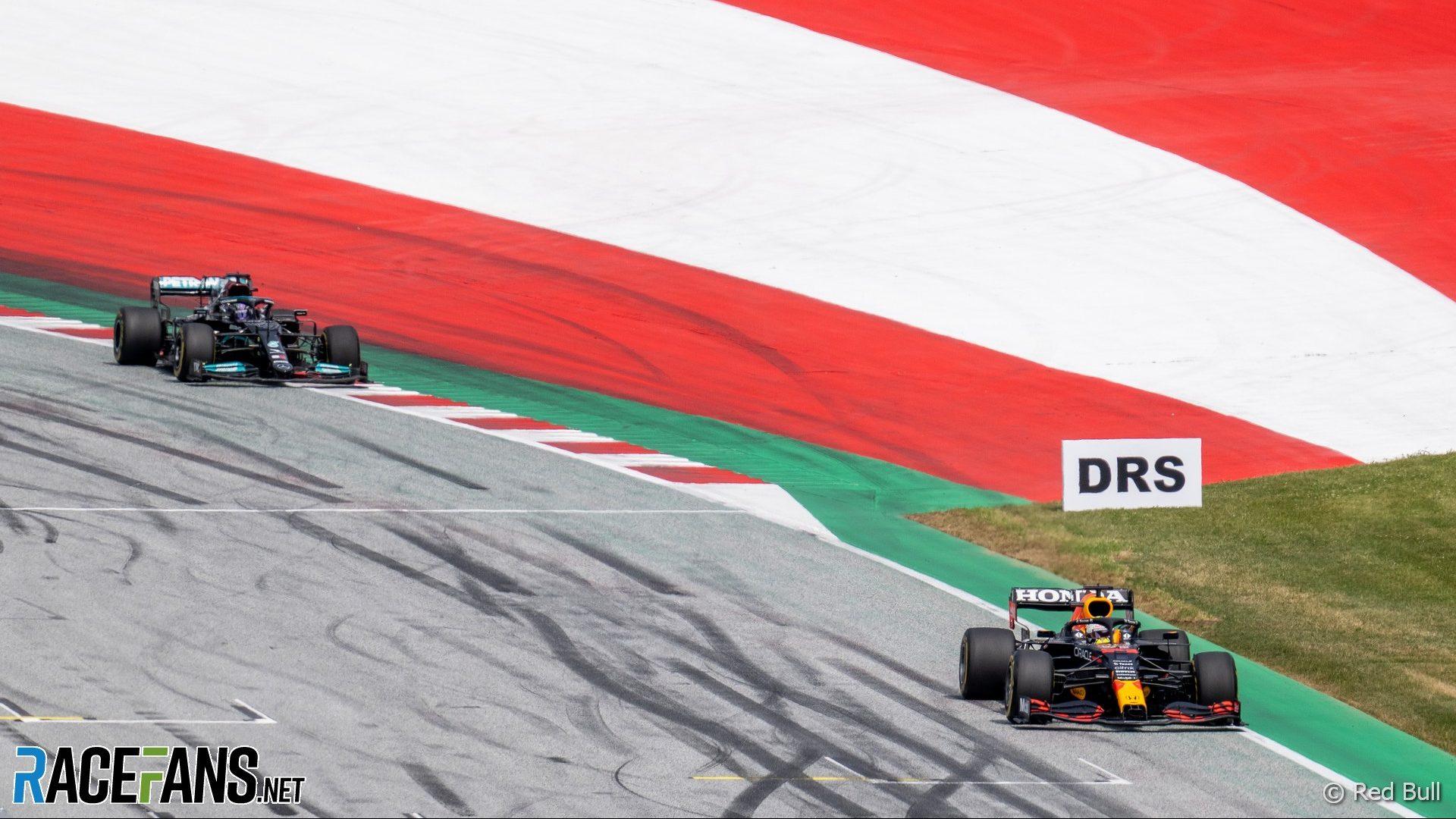 Max Verstappen, Lewis Hamilton, Red Bull Ring, 2021