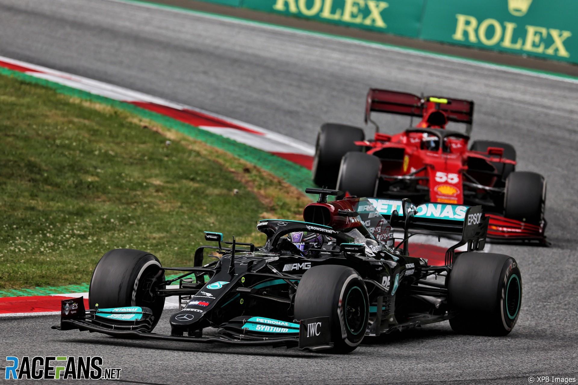 Lewis Hamilton, Mercedes, Red Bull Ring, 2021