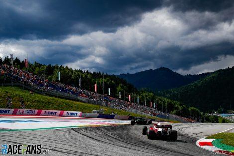 Kimi Raikkonen, Alfa Romeo, Red Bull Ring, 2021