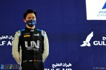 F2 points leader Zhou to make F1 practice debut on Friday