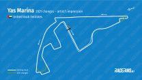 Yas Marina changing track layout to aid overtaking at F1 season finale