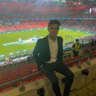 Lando Norris, Wembley Stadium, 2021