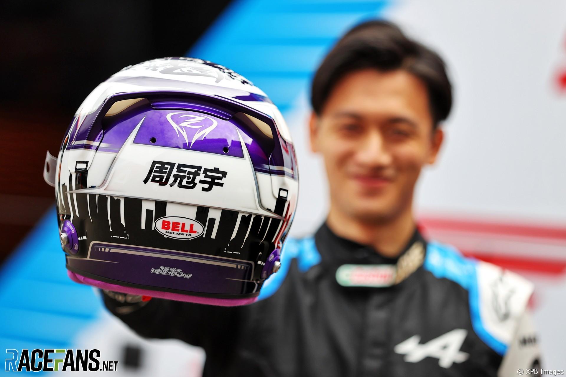 Guanyu Zhou, Alpine, Red Bull Ring, 2021
