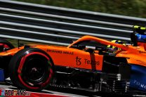 """Norris """"gutted"""" after missing first F1 pole by five-hundredths of a second"""