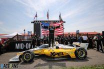 Newgarden breaks Penske's curse with Mid-Ohio win