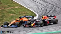 Masi backs Norris penalty for Perez move after criticism from Red Bull and McLaren