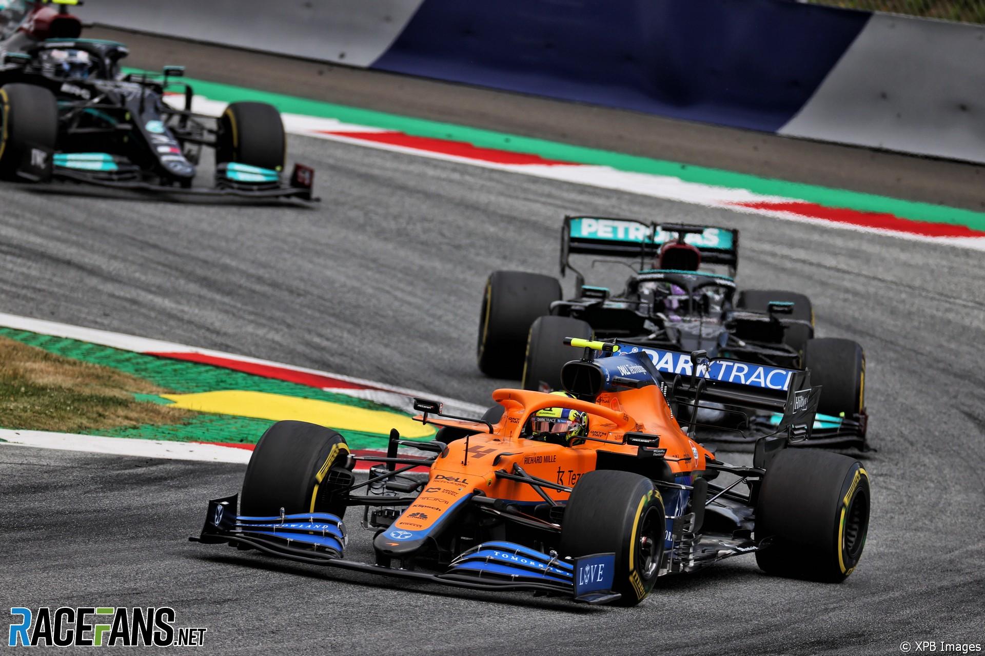 Lando Norris, McLaren, Red Bull Ring, 2021