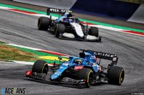 Fernando Alonso, Alpine, Red Bull Ring, 2021