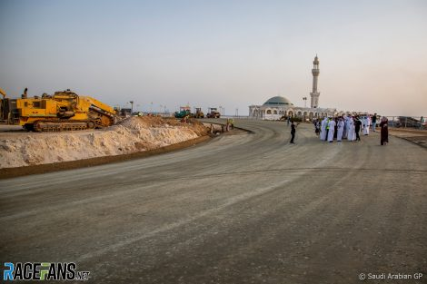 Building work, Jeddah, 2021