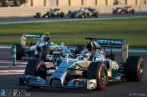 Motor Racing – Formula One World Championship – Abu Dhabi Grand Prix – Race Day – Abu Dhabi, UAE