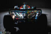 2022 F1 car rendering