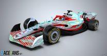 2022 F1 car model