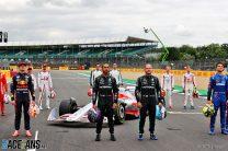 F1 drivers, Silverstone, 2021