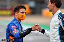 Lando Norris, McLaren, Silverstone, 2021