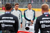 George Russell, Nicholas Latifi, Williams, Silverstone, 2021
