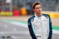 George Russell, Williams, Silverstone, 2021