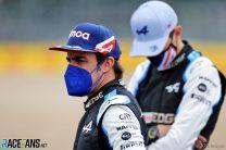Fernando Alonso, Alpine, Silverstone, 2021
